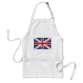 Union Jack with Central Crown Adult Apron