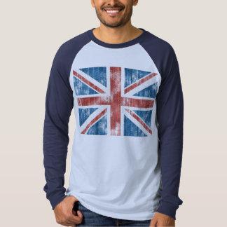 Union Jack worn Shirts