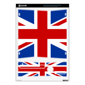 Union Jack Xbox 360 S Console (2010) Skin Decals For Xbox 360 S