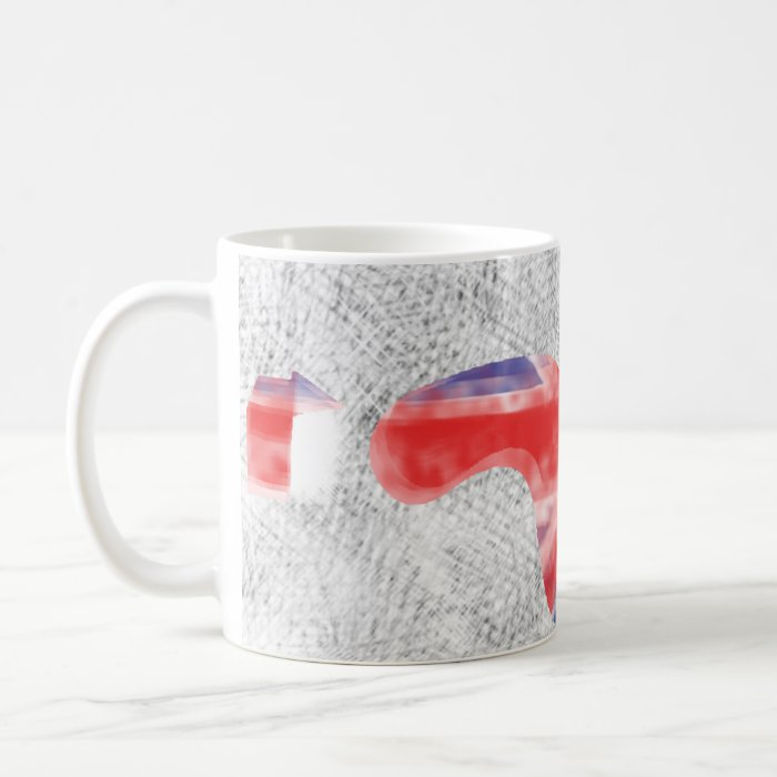 Union Jacked Logo Mug! Coffee Mug