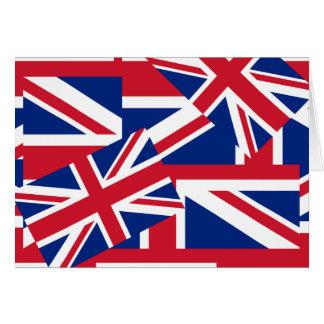 Union Jacks Galore Card