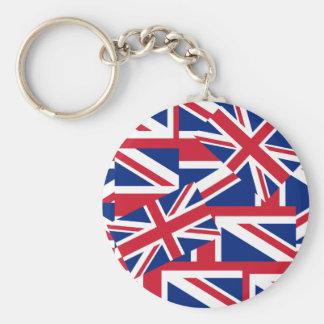 Union Jacks Galore Keychain