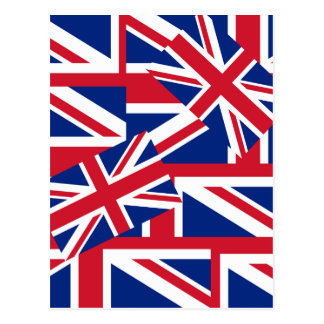 Union Jacks Galore Postcard