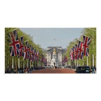 Union Jacks in London Card