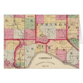 Unión, Johnson, Alexander, Pulaski Tarjeta De Felicitación