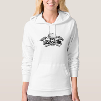 Union Laborer: Skull and Sledge Hammers Hoodie