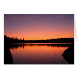 Union Lake, California Card