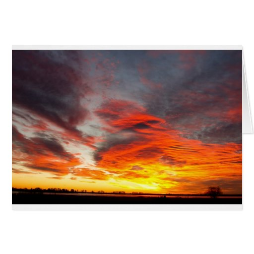 Union Lake Sunrise Feb 14th 2011 - Longmont - Cards