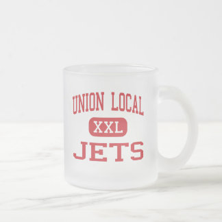 Union Local - Jets - Middle School - Belmont Ohio 10 Oz Frosted Glass Coffee Mug