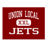Union Local - Jets - Middle School - Belmont Ohio Post Card