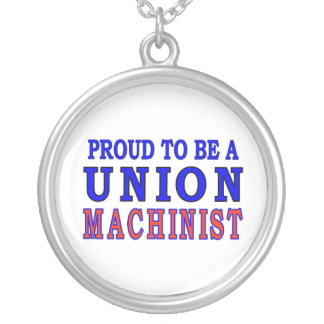 UNION MACHINIST SILVER PLATED NECKLACE