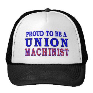 UNION MACHINIST TRUCKER HATS