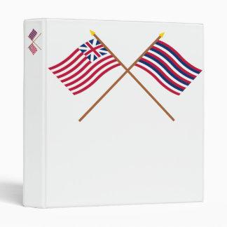 Unión magnífica cruzada y banderas del pie Mifflin