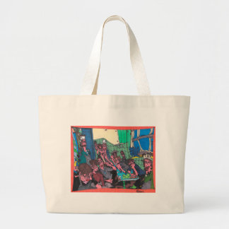 Union Meeting Large Tote Bag