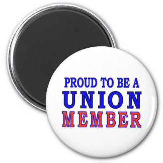 UNION MEMBER 2 INCH ROUND MAGNET