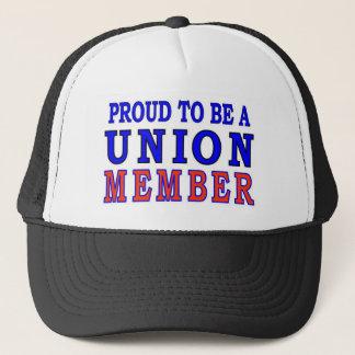 UNION MEMBER TRUCKER HAT