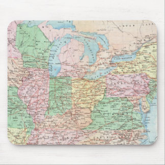 Union Military Chart Mouse Pad