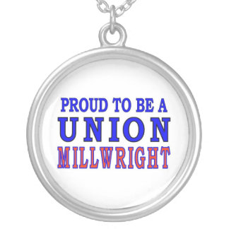 UNION MILLWRIGHT ROUND PENDANT NECKLACE