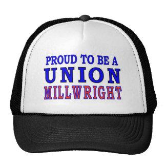 UNION MILLWRIGHT TRUCKER HAT