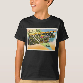 Union New Jersey NJ Old Vintage Travel Postcard- T-Shirt