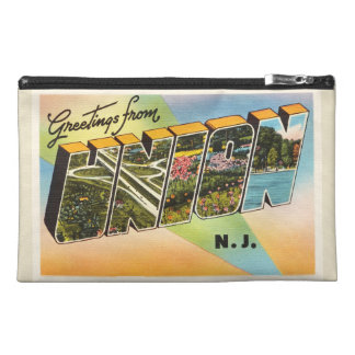 Union New Jersey NJ Old Vintage Travel Postcard- Travel Accessory Bags