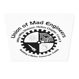 Union of Mad Engineers Canvas Print