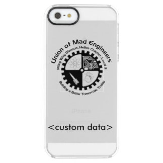 Union of Mad Engineers Clear iPhone SE/5/5s Case
