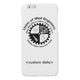 Union of Mad Engineers Glossy iPhone 6 Case