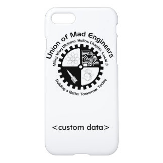 Union of Mad Engineers iPhone 7 Case