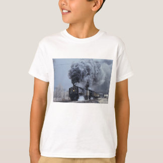 Union Pacific, No. 844 and No. 3985, departing Win T-Shirt