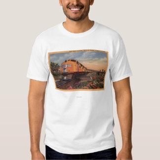 """Union Pacific Railroad """"City of Los Angeles"""" Tshirt"""
