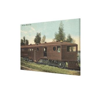 Union Pacific RailroadMcKeen Motor Car View Canvas Print