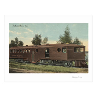 Union Pacific RailroadMcKeen Motor Car View Postcard