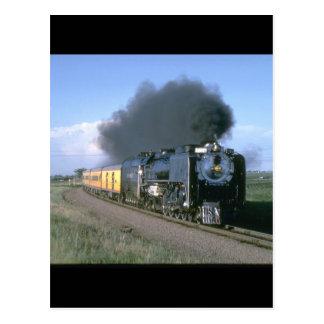 Union Pacific splendor, No_Steam Trains Postcard
