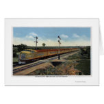 "Union Pacific Streamliner ""City of Denver"" Greeting Card"