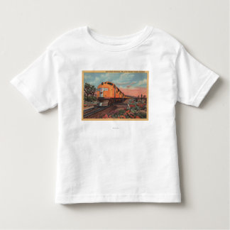 Union Pacific Train, City of L.A. Toddler T-shirt