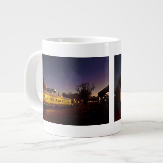Union Pacific Train in Old Sacramento Large Coffee Mug