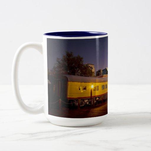 Union Pacific Train in Old Sacramento Mugs