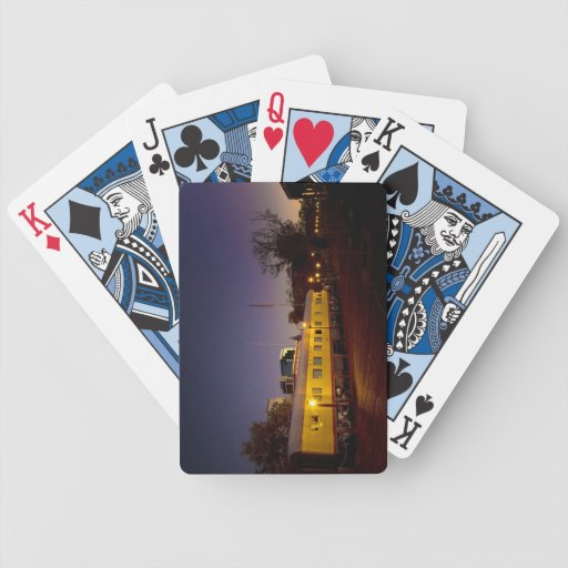 Union Pacific Train in Old Sacramento Bicycle Playing Cards