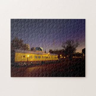 Union Pacific Train in Old Sacramento Puzzle