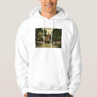 Union Passenger Depot, Cedar Rapids IA Vintage Hooded Sweatshirt