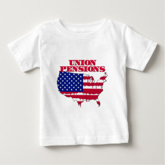 Union Pensions Baby T-Shirt