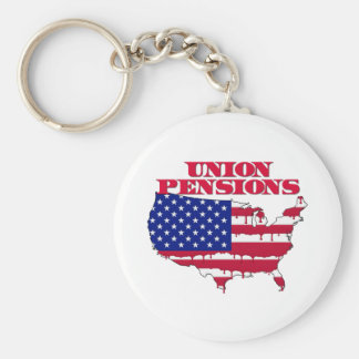 Union Pensions Keychain