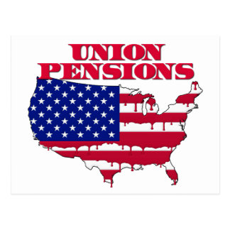 Union Pensions Postcard