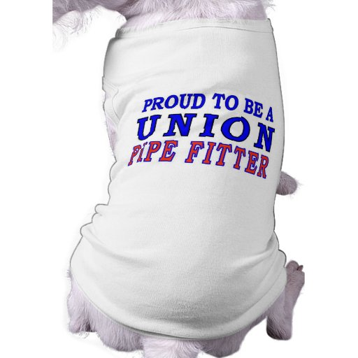 UNION PIPE FITTER DOG TSHIRT