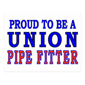 UNION PIPE FITTER POSTCARD