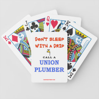 UNION PLUMMER BICYCLE PLAYING CARDS