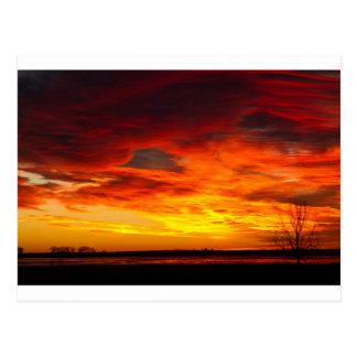 Union Reservoir Epic Sunrise Longmont Colorado Bou Postcard
