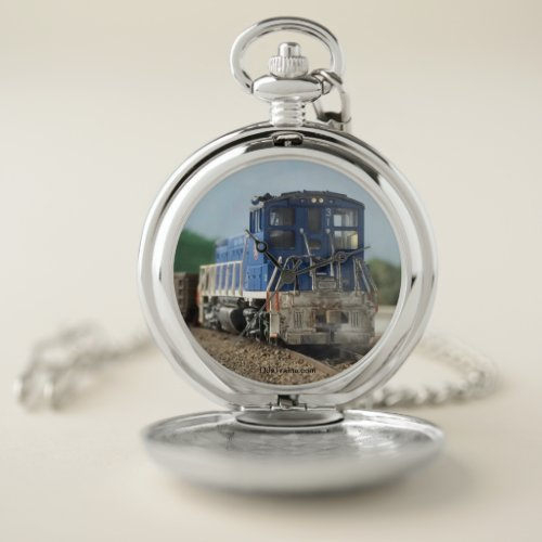 Union RR Moving a Gondola Pocketwatch Pocket Watch