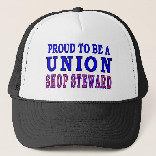 UNION SHOP STEWARD TRUCKER HAT
